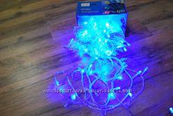 Гирлянда светодиодная 100 LED синий цвет