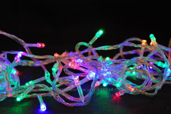 Гирлянда новогодняя 600 LED лампочек