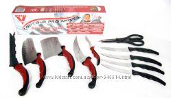 Набор кухонных ножей Contour Pro магн рейка