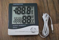 Часы термометр гигрометр  выносной датчик