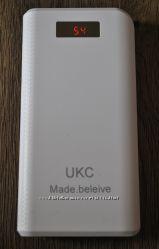 Портативное зарядное 30800 mAh Power Bank UKC