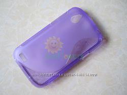 Чехлы для HTC Desire V пластиковые и силиконовые