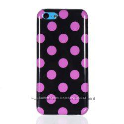 Чехлы для Iphone 5c пластиковые, силиконовые
