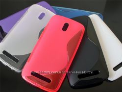 Чехлы для HTC Desire 500 пластиковые и силиконовые