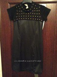 Оригинальное платье на девочку 10-12 лет можно в школу.