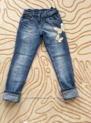 Крассивые джинсы на девочку NEXT