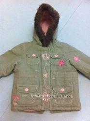 Теплая демисезонная зимняя курточка LadyBird