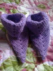 модные носочки для мамы и дочки
