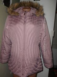 Куртка на пуху р. L и еще и на меху60 пуха Качество Европы