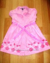 Платье с вышивкой