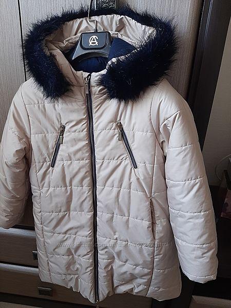 Wojcik куртка-пальто р.134 б/у