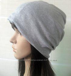 Шапка-шарф 2 в 1 для стильных девушек