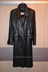 Кожаное пальто Assan
