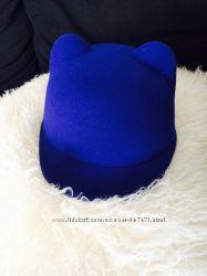 Шляпка с ушками кепка
