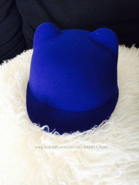 Шляпа с ушками кепка