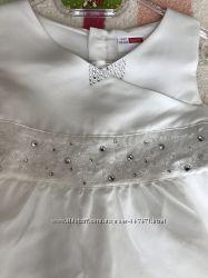 Нарядное белое платье Name It.