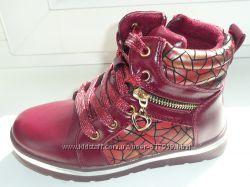 Красивенные ботиночки 27р стелька 17 см