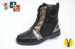 Стильные ботиночки  34 р стелька 21, 5 см