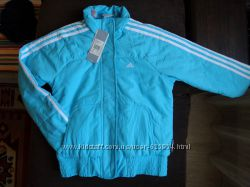 Новая демисезонная куртка Adidas, р. 152, 164 11-12, 14 лет. S, M. Оригинал