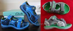 Кожаные сандали сандалии босоножки Clarks UK 5 5, 5  6 . 13, 7 14 14, 7 см