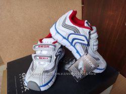 Новые в коробке белые летние кроссовки geox. Оригинал. р. 21, 13 см