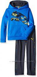 Новый спортивный костюм Puma флисовое худи штаны. 4Т. Оригинал