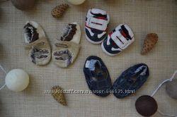 Тапочки теплые пинетки чешки для малышей