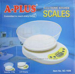 Кухонные весы с чашей А-плюс Sc-1656