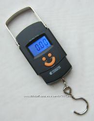 Весы электронные кантер  до 50кг5г с батарейками