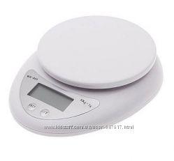 Кухонные весы до 5 кг WH-b05 с батарейками