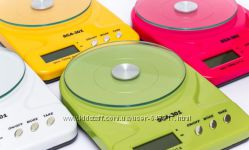 Кухонные весы до 7 кг SCA-301 с батарейками