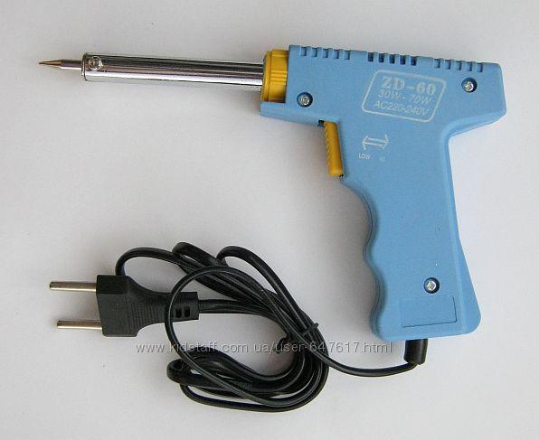 Паяльник пистолет ускоренного нагрева, 30-100 70 Вт