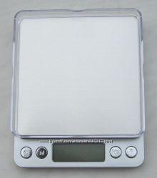 Профессиональные ювелирные весы до 500грамм  0, 01  с двумя чашами