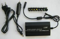 Универсальное зарядное устройство для ноутбука от сети 220В и прикуривателя