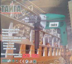 Дрель ударная  электрическая Тайга  Дэу-950