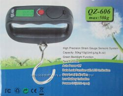 Весы электронные, кантер до  50 кг с LCD дисплеем