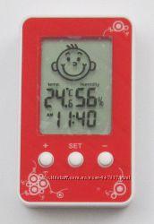 Термометр  гигрометр Dm-3190 с часами