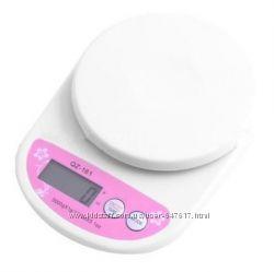 Кухонные весы Qz-161 до 5кг с подсветкой