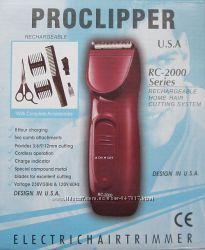 Аккумуляторная машинка для стрижки Proclipper RC-2000