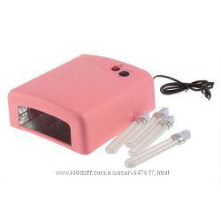 Ультрафиолетовая лампа для наращивания ногтей Zh-818, 36Вт