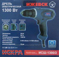 Сетевой шуруповерт Искра Исш-1300  2