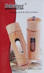 Набор для специй перцемолка и солонка Schtaiger Shg-1154
