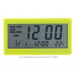 Цифровой термометр Dc-208 с часами