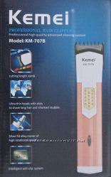 Машинка для стрижки волос  Kemei Km-707b