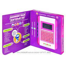 Детский планшет Joy Toy 7220 7221 с цветным экраном работает от сети 220