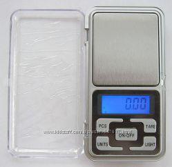 Высокоточные ювелирные весы до 500 гр. шаг 0, 1г