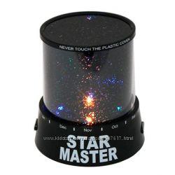 Проектор звёздного неба Star Master, адаптер,  шнур