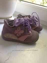 Ботинки демисезонные сиреневые Apawwa для девочки, 20 размер, 12-12, 5 см