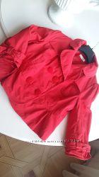 Красный женский пиджак болеро orsay, размер L, размер 40, 42