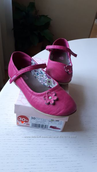 Туфли Nelli Blu, 30 размер, стелька 19, 5 см, фуксия, розовые, яркие, на ли